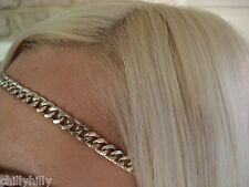 Accessorize Ladies Gold Chain Link Headband RRP £6.00 BNWT
