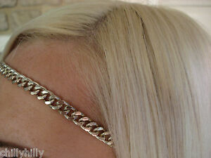 Accessorize Ladies Gold Chain Link Headband Hairband Party Girl RRP £6.00 BNWT