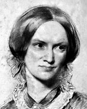 New 8x10 Photo: English Poet and Novelist Charlotte Bronte, Author of Jane Eyre