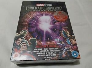 Marvel Cinematic Universe Phase 2 Collectors Edition - UK DVD Boxset NEW SEALED
