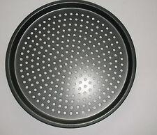 Non-Stick Pizza Pan  26cm Inner Diameter  Baking Round Oven Vented Tray