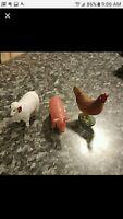 Schleich Farm animal figurines