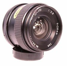 FORMULA 5 ARGUS 28mm f/2.8 M42 Mount Camera Lens  - W82