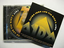 AIDA - ELTON JOHN AND TIM RICE'S AIDA - CD - O.S.T. - ORIGINAL SOUNDTRACK