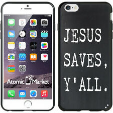 Jesus Saves Y'All For Iphone 6 Plus 5.5 Inch Case Cover By Atomic Market