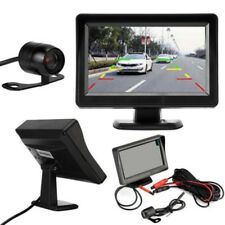 "Car Rear View System Backup Reverse Camera Night Vision 4.3"" TFT LCD Monitor Kj"