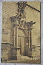 """CPA """" Les Sables d'Olonne - Portail de Notre-Dame de Bon Port"""