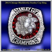 2013 CHICAGO BLACK HAWKS NHL STANLEY CUP CHAMPIONSHIP RING SIZE 10.50