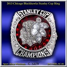 2013 CHICAGO BLACK HAWKS NHL STANLEY CUP CHAMPIONSHIP RING SIZE 11