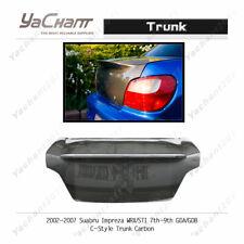 Carbon Boot Lid For 02-07 Subaru Impreza WRX/STI 7th-9th GDA/GDB C-Style Trunk