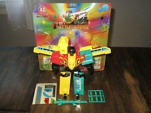 Transformers KO Bootleg Brave Might Gaine BATTLE BOMBER MINI Robot Lot STD DX g1