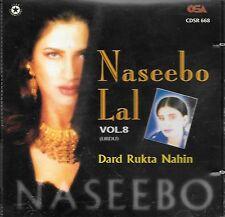 NASEEBO LAL - DARD RUKTA NAHIN VOL 8 - BRAND NEW PAKISTANI CD SONGS