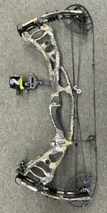 "Hoyt Carbon RX 4 Alpha Compound Bow RH 60-70#   28-30"" With CBE Sight"