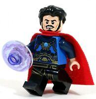 LEGO MARVEL SUPERHEROES DOCTOR STRANGE MINIFIGURE FIGURE - MADE OF GENUINE LEGO