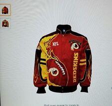Washington Redskins men's red zone NFL jacket size small