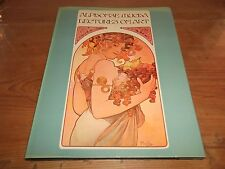 Book. Alphonse Mucha Lectures on Art. Signed by son Jiri. Fin de Siecle 1st 1975