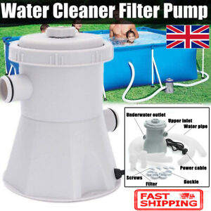 Summer Waves Swimming Pool Water Cleaner Filter Pump For Above Ground Pools 220V