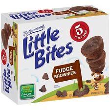 (3)- Entenmann's LITTLE BITES Breakfast Dessert Mini Brownie Bites
