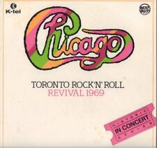 """CHICAGO """" TORONTO ROCK'N' ROLL REVIVAL 1969 """" LP NUOVO RCA  ITALY"""