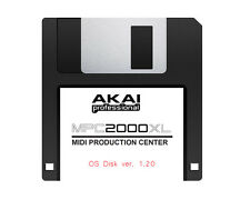 Akai MPC 2000XL OS Ver. 1.20 or 1.14 Operating System Floppy Disk - Free SHIP