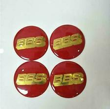 4pcs BBS Car Wheel Center Cap Emblem Badge Stickers 56.5 mm 60mm 70mm