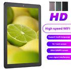 10.1 Inch HD IPS Sceen Tablet PC Quad‑Core 16GB WiFi BT 5.0 Tri-Camrea EU Plug