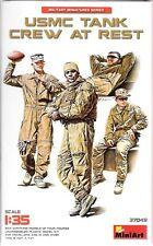 MiniArt Modern USMC Tank Crew At Rest, Figures in 1/35 37 049   ST