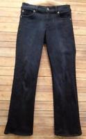 Kut From the Kloth Womens 8 Blue Jeans Dark Wash Straight Leg Stretch Denim