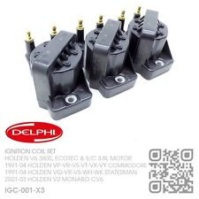 DELPHI IGNITION COILS V6 3800 3.8L [HOLDEN VG-VP-VR COMMODORE/CALIAS VQ] GENUINE