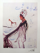 Salvador Dali EARTH GODDESS Facsimile Signed Limited Edition Art Lithograph