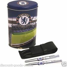 CHELSEA PEN & LEATHER CASE SET -OFFICIAL LICENSED PRODUCT