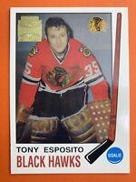 2002 Topps O-Pee-Chee Archives Reprint #3 Tony Esposito Chicago Blackhawks