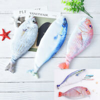 3 kawaii korea styles creative fish shape pencil case canvas pencils bag school-