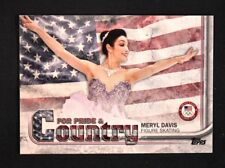 2018 Topps US Winter Olympics Pride and Country #MD Meryl Davis