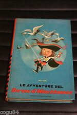LE AVVENTURE DEL BARONE DI MUNCHHAUSEN - Enrico Raspe ed. Curcio - Prima Ediz.