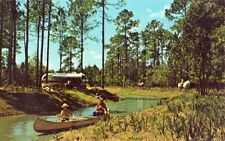canoeing & camping at FORT WILDERNESS IN THE HEART OF WALT DISNEY WORLD, FLORIDA
