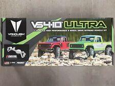 Vanquish Products VS4-10 Ultra Rock Crawler Kit w/Origin Half Cab Body Black New