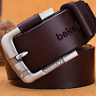 Men Belt Cowhide Genuine Leather Belt for men Pin Buckle Jeans Cowboy Men's Belt