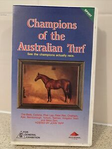 Champions Of The Australian Turf VHS Tape By John Tapp Horse Racing
