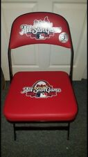 St, Louis Cardinals 2009 All-Star Game Used Chair Albert Pujols Barack Obama