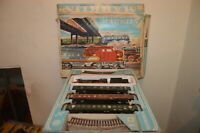 COFFRET TRAIN MARKLIN 3205 LOCO &TENDER 23.014 + 3 WAGONS + 14 RAILS FONCTIONNE
