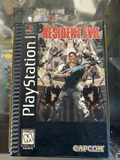 Resident Evil Sony PlayStation 1 1996 CIB Complete Video Game PS1 Long Box