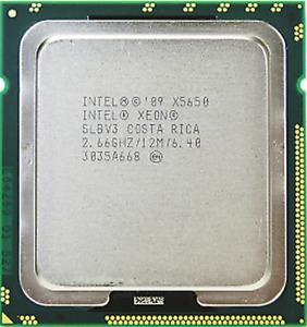 Intel Xeon X5650 (SLBV3) 2.66GHz 6-Core LGA1366 CPU