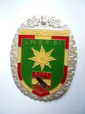 Schießabzeichen, ÖBH, Bundesheer,  LWSR 61