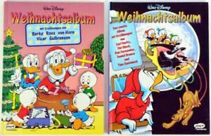 Walt Disney - Weihnachtsalbum Hardcover, kompl. Bd. 1+2, Ehapa 1996