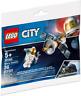 Lego City Satellite Polybag (30365) Space Port Town Astronaut Minifigure New
