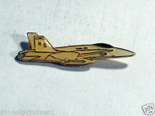Vintage F-18 Hornet Fighter Jet Aircraft Military Airplane Pin , (**)