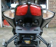 Gsxr 750 K8 K9 10 Cola Impecable, Con Led placa de matrícula Luz 08/09/2010