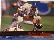 1999 Los Angeles Dodgers Jose Vizcaino MLB Baseball Card Chavez Ravine Hollywood