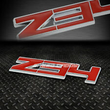 FOR 370Z FAIRLADY Z Z34 METAL BUMPER TRUNK GRILL EMBLEM DECAL STICKER BADGE RED